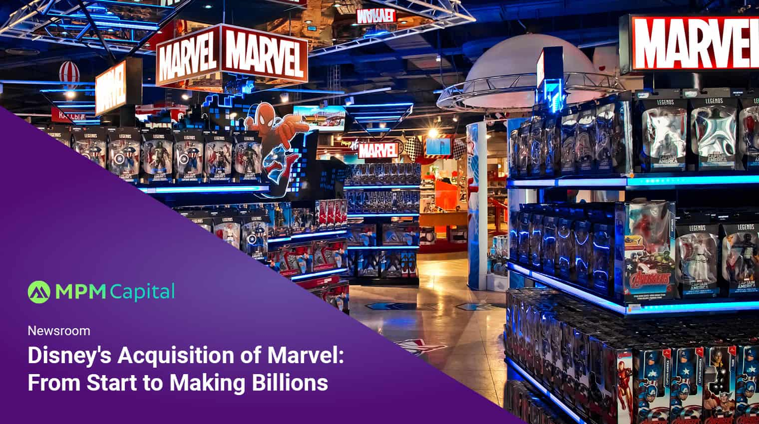 Disney's Acquisition of Marvel: From Start to Making Billions